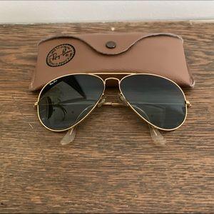 VINTAGE 1990s Ray-Ban L1746 B&L Aviator Sunglasses